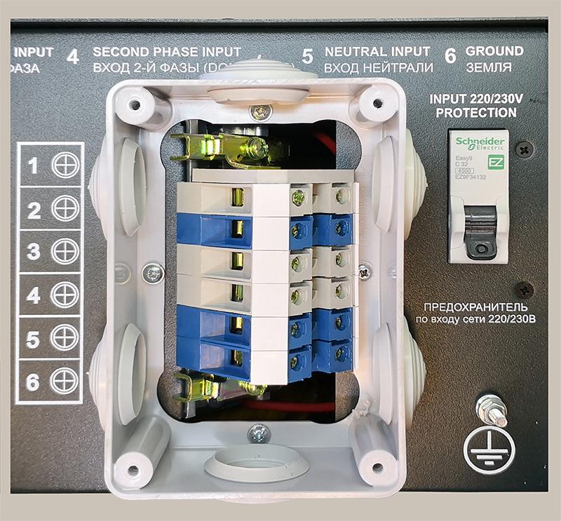 Коробка подключения МАП 3-6кВт моделей Pro и Hybrid